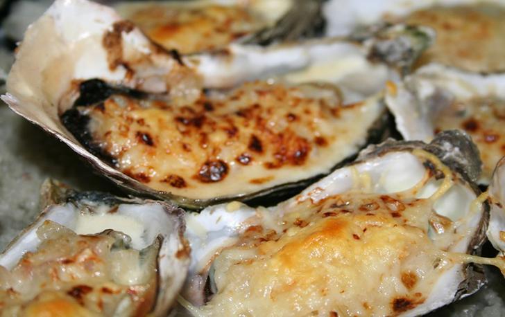 Huîtres gratinées simple et gourmande