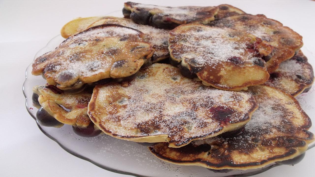 Crêpes aux cerises ou Kerskiechle un délice !