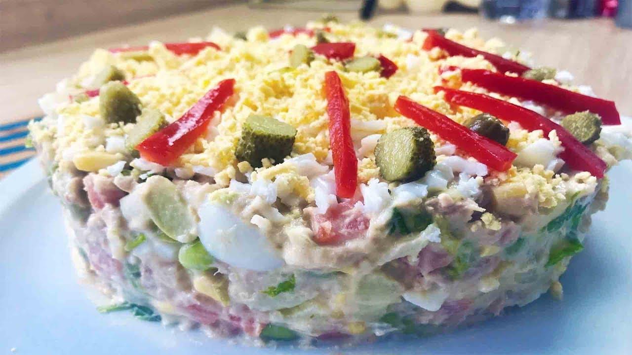 Salade de pomme de terre à l'espagnole (Ensaladilla)