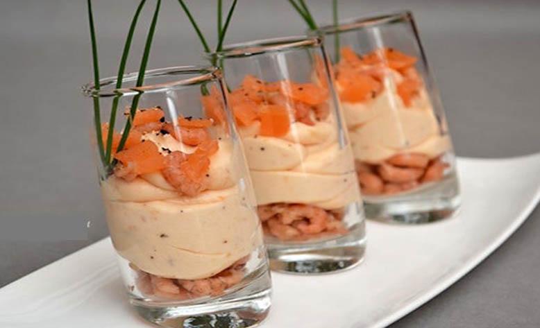 Mousse de saumon fumé un pur délice