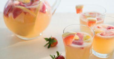 Sangria blanche recette idéal pour noël