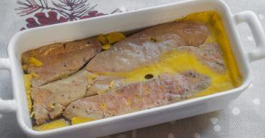 Terrine de foie gras aux poires facile et rapide