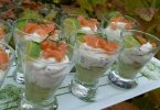 Verrine avocat chantilly de saumon recette apero