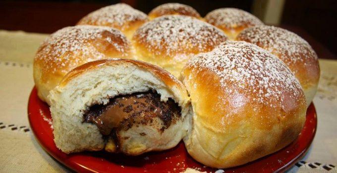Brioche Butchy fourrée au Nutella recette facile