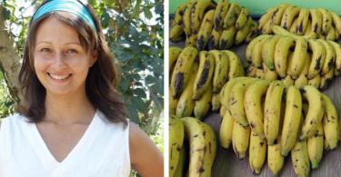 Cette femme a choisi de suivre une mono diète à base de de bananes