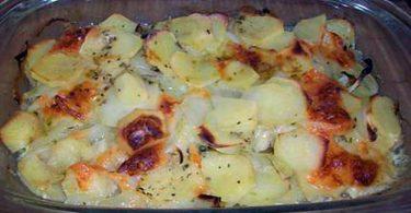 Gratin pommes de terre-mozzarella fondant et gourmand
