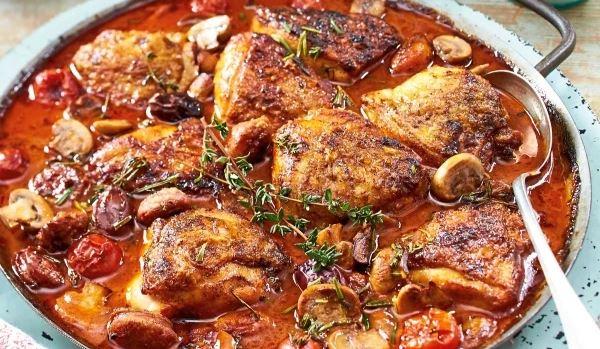 Poulet à l'italienne recette facile à préparer