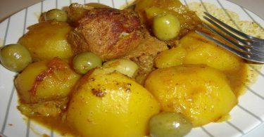 Ragoût de pommes de terre (facile, rapide)