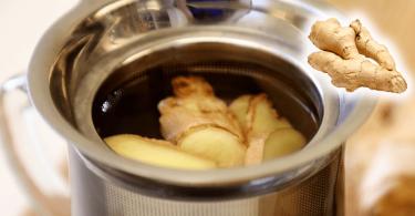 Recette : Le thé au gingembre dissout les calculs rénaux, nettoie le foie et réduit les douleurs articulaires