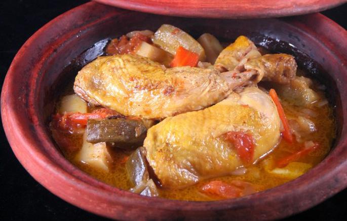 Tajine de poulet un grand classique
