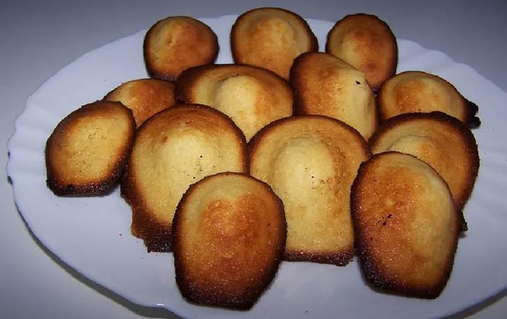 Madeleines au citron façon espagnole recette facile