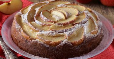 Gâteau aux pommes et au mascarpone recette facile
