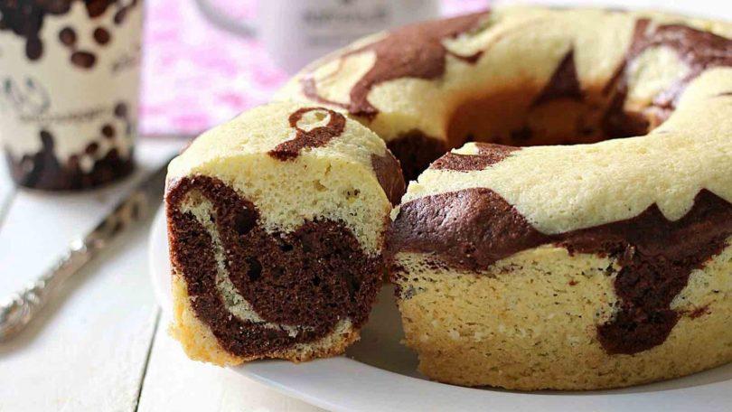 Gâteau marbré recette facile et gourmand