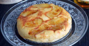 Kouign aux pommes recette facile à préparer
