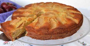 tarte aux pommes légère et facile a préparer