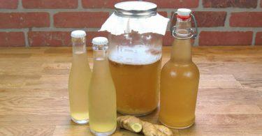 L'eau au gingembre, une boisson saine pour brûler les graisses du ventre, du dos et des cuisses !