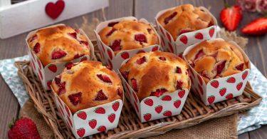 Recette muffins aux fraises et au mascarpone