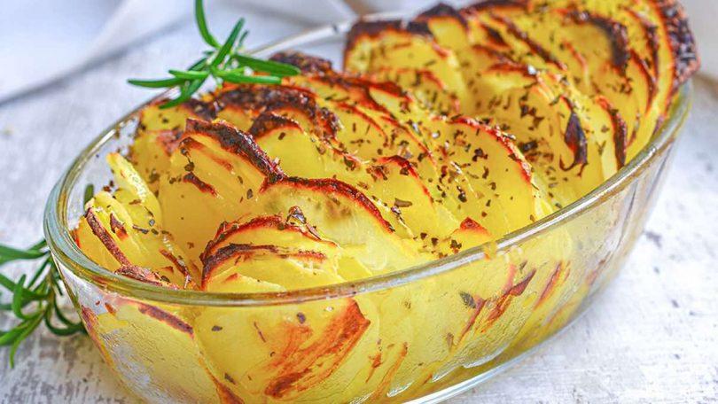 Recette pommes de terre au four aux épices