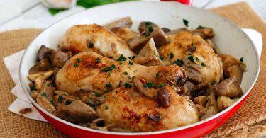 Recette poulet aux champignons facile