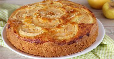Recette tarte aux pommes sans lait et sans beurre