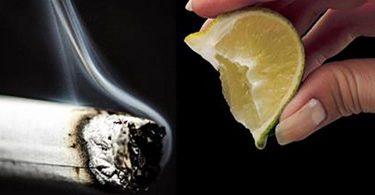 Une ancienne astuce au citron pour arrêter de fumer à utiliser à la place des patchs et des gommes à la nicotine