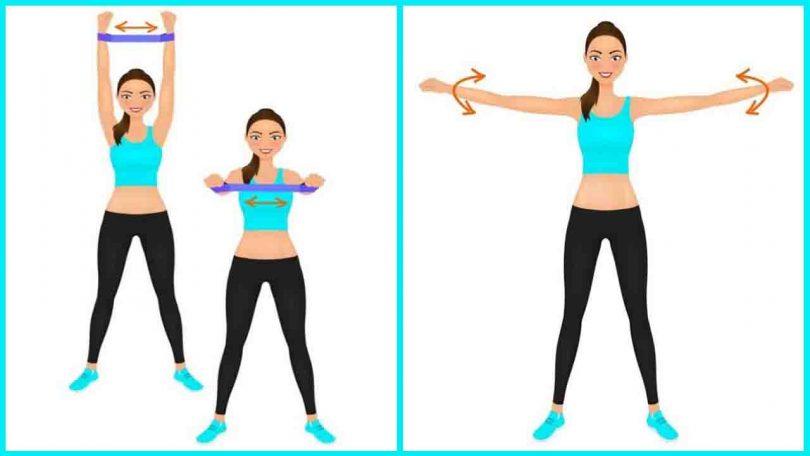 6 exercices pour se débarrasser des bras flasques sans pompes, planches ou poids