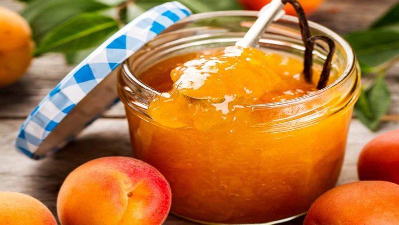 Confiture d'abricots sans sucre fait maison