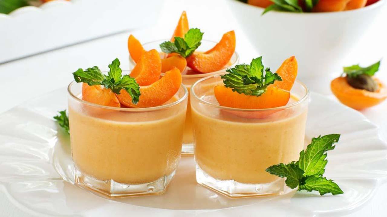 Dessert parfait à l'abricot : bon et délicat