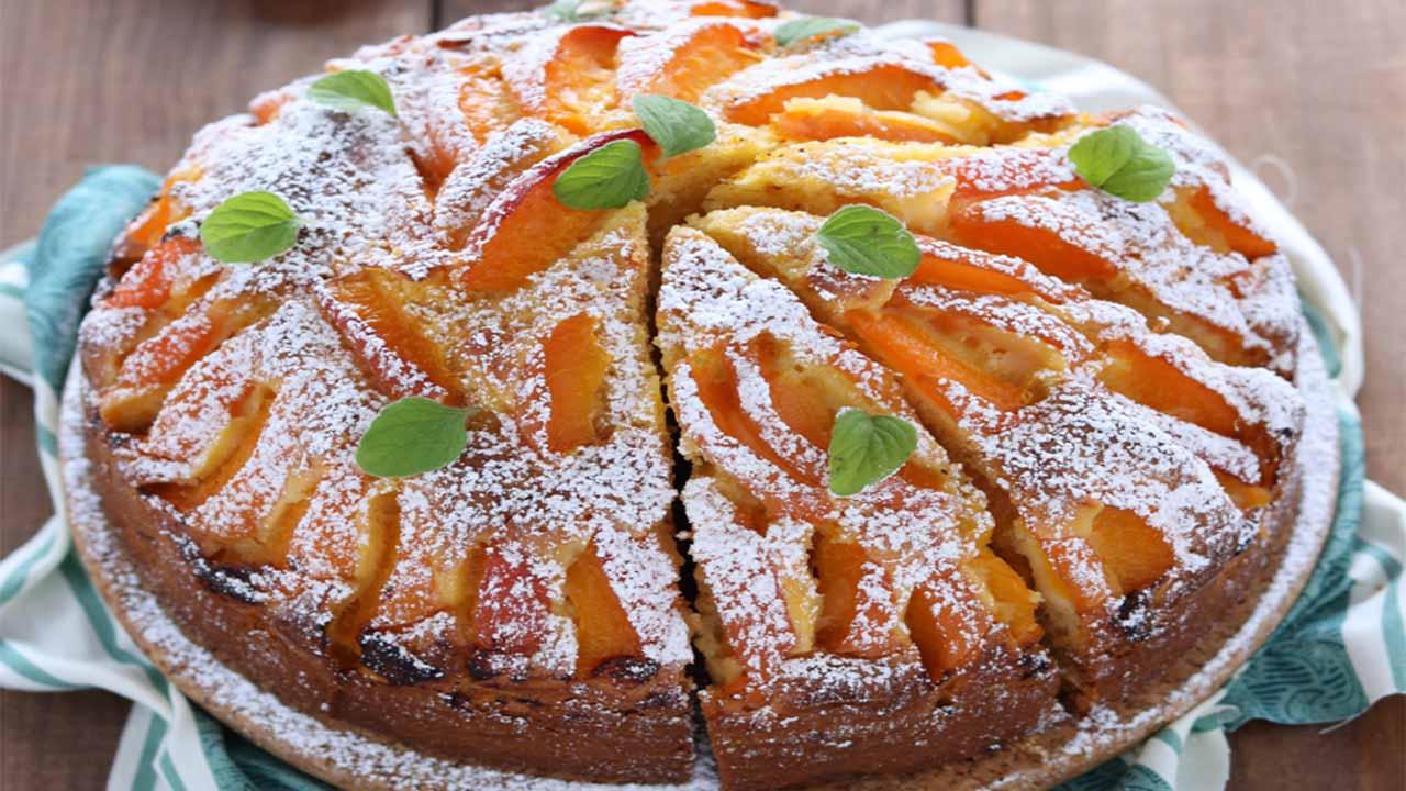 Gâteau moelleux aux abricots recette très facile