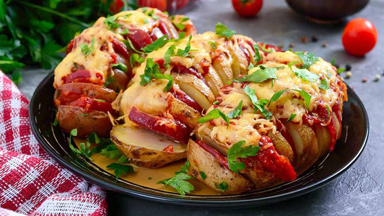 Pommes de terre au four simples et délicieuses