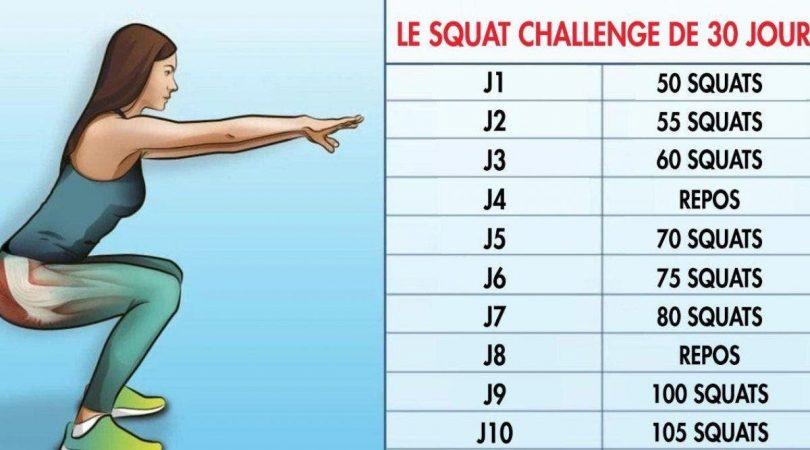 Un programme de 30 jours de squat pour des fesses sculptées et un corps de rêve