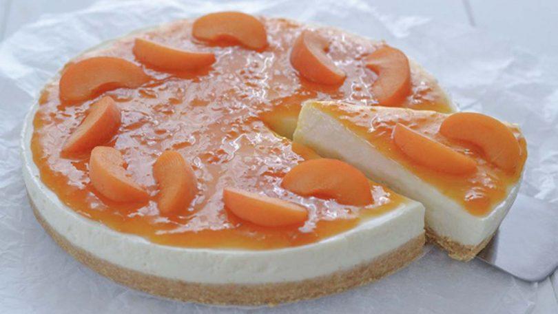 Cheesecake aux abricots recette simple et facile