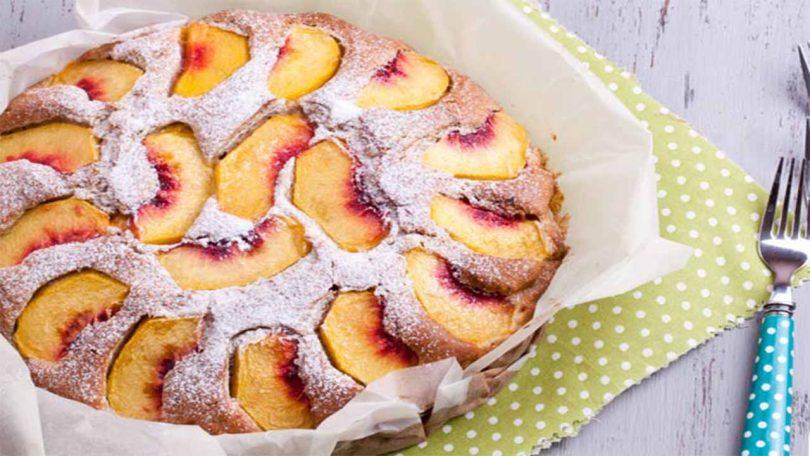 Gâteau aux pêches et au yaourt recette très facile