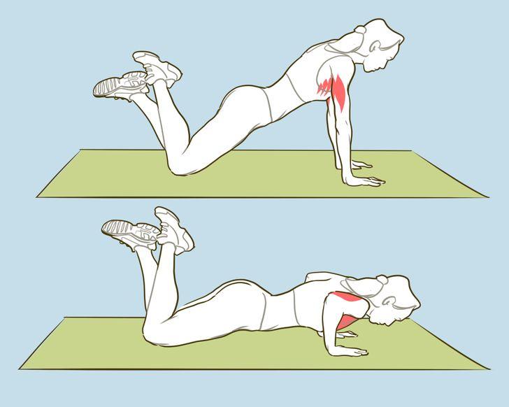 Fais ces 6 exercices et tu auras des bras de mannequin