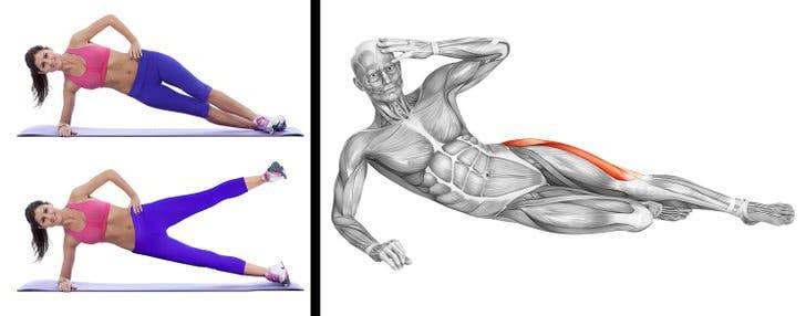 7 exercices pour sculpter votre corps à la maison