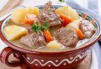 Mijoté de veau et légumes sans alcool
