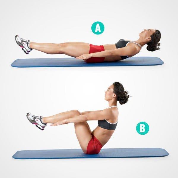 Obtenez des abdominaux toniques et des fesses rebondies grâce à cet entraînement de 15 minutes